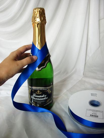 Бутылка своими руками на новый год
