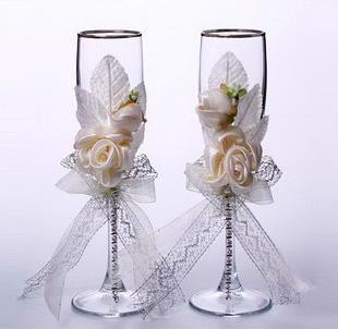 Изготовление свадебных бокалов