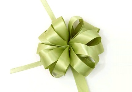 送礼物时需要打的包装结 - maomao - 我随心动
