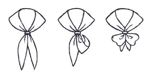 """8. Повязав платок таким образом, можно каждый день появляться в  """"новой..."""