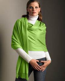 Как завязать платок, шаль, палантин.Павловопосадские платки.