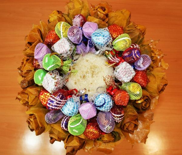 Как сделать букет из конфет рафаэлло своими