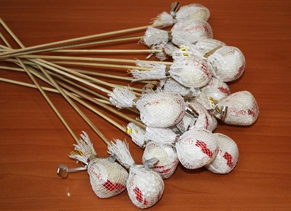 Свадебный букет из конфет рафаэлло своими руками