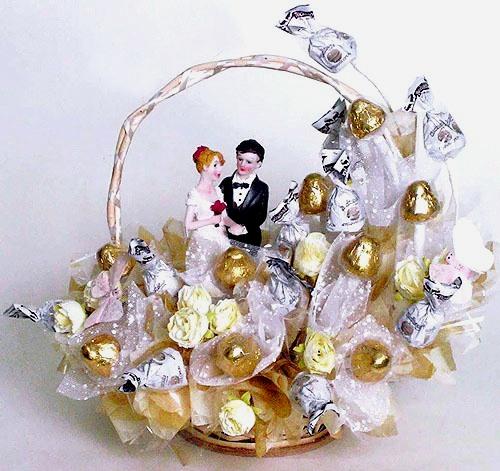Букет из фруктов на свадьбу своими руками