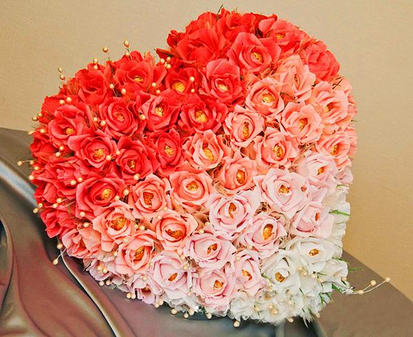 Букеты из конфет из роз своими руками мастер класс фото 178