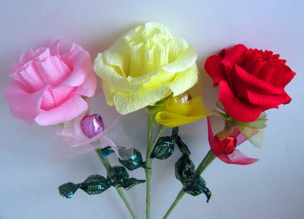 Конфетные букеты на свадьбу мастер класс черные розы купить украина