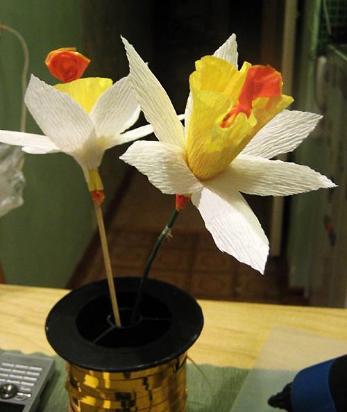Конфетный цветочек нарцисс