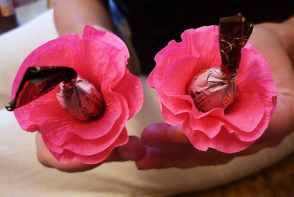 Как делать розы своими руками фото