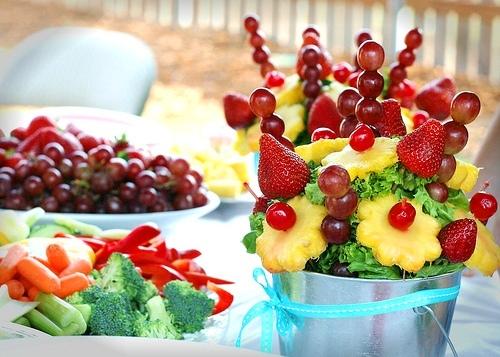 Как сделать канапе из фруктов в домашних условиях