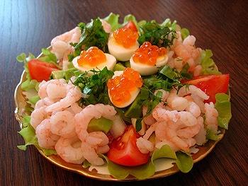 Оригинальные красивые блюда украшение салатов и закусок.