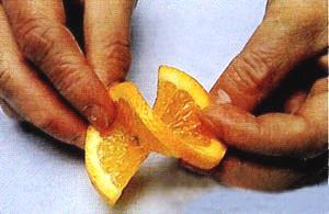 Как красиво порезать лимоны