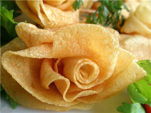 Украшения блюд из картофельного пюре фото
