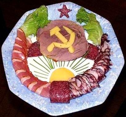 Праздничные салаты и их украшения