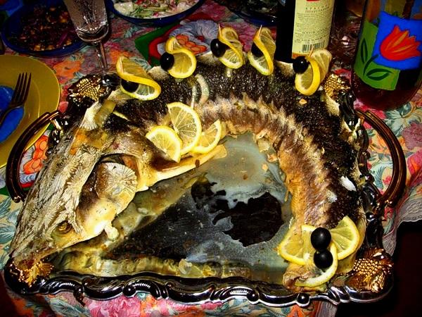 запеченная рыба с фото.
