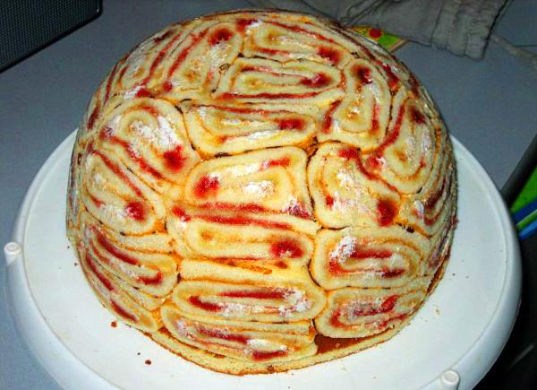 Основу торта составляют пряники