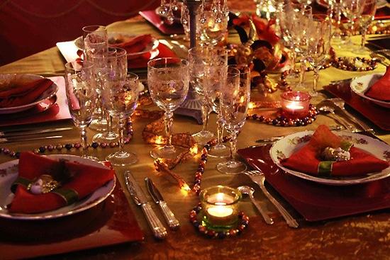 Заказ столика на новый год в ресторане