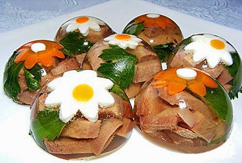 русские мясные закуски рецепты с фото