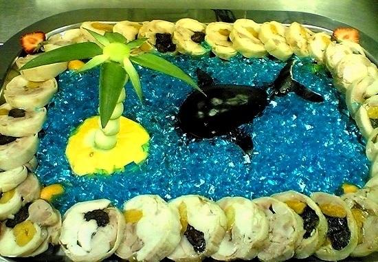 Фото фруктов в воде