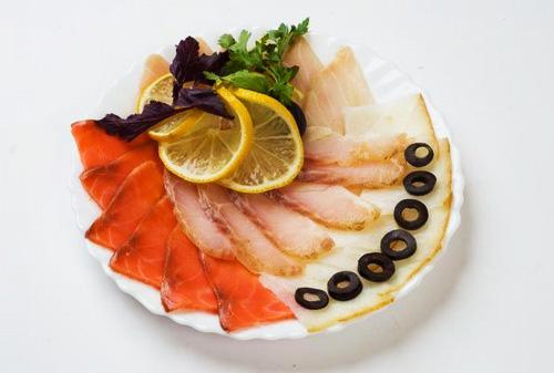 как приготовить красиво рыбу к празднику