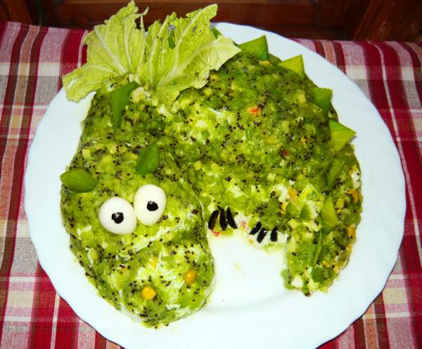 Украшение и рецепты салатов и их 50