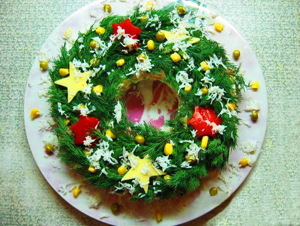 рецепты салатов на 2013 г