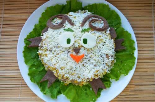 Рецепт и салатов на новый год