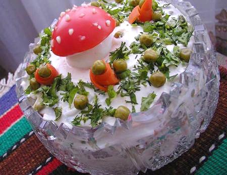 Рецепты вкусных салатов с фото, приготовление салатов с.