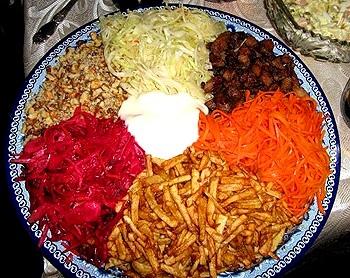 салат семицветик рецепт с фото