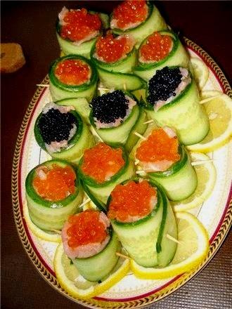 оригинальные салаты сервировка фото