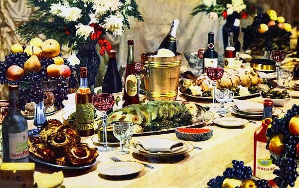Картинки по запросу Праздничный Новогодний стол