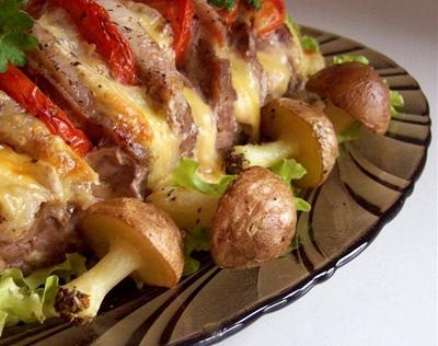 Простые блюда из мяса свинины и картошки
