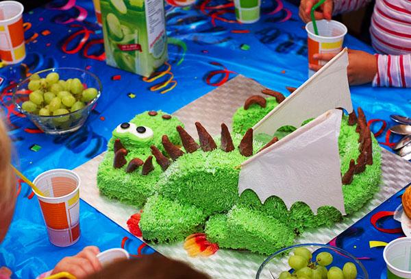 tort dragon z 07 Новогодний торт «Дракон»