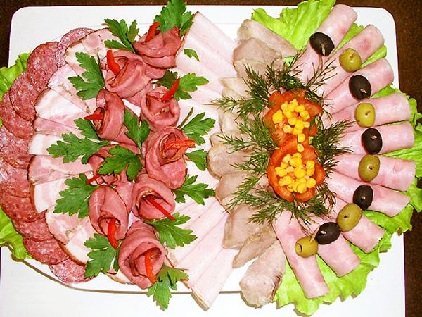 украшение блюд 14 мясная тарелка пошаговые фото рецепты