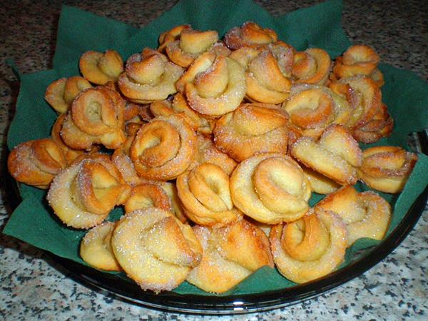 Творожное печенье рецепт пошагово в духовке розочки