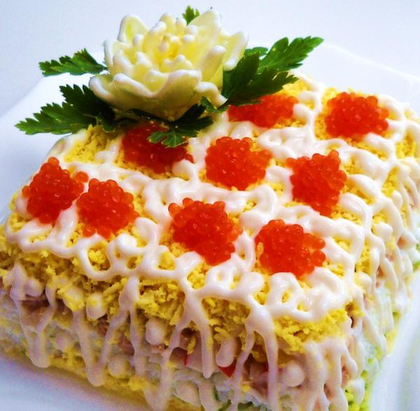 Вкусный салат на день рождения рецепт новые отзывы