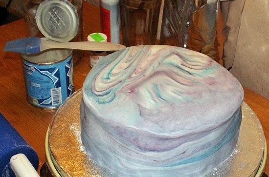 Как красить торт мастикой в домашних условиях