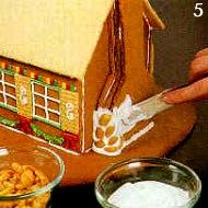 'Пряничный домик': поэтапное изготовление