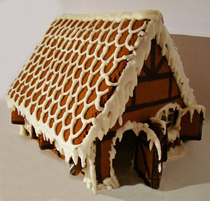 Пряничные домики !!! (очень подробно)