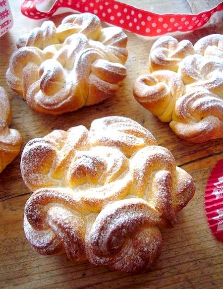 красивые булочки как делают с фото