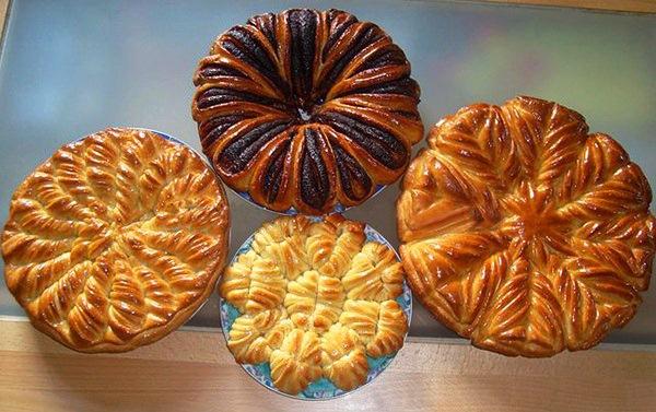 rezhem povorachivaem 01a Оформление пирогов и булок по методу Valentina Zurkan + 2 рецепта теста
