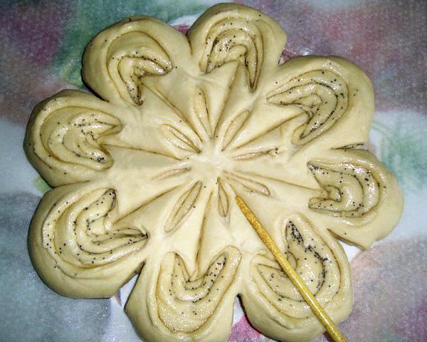 Пироги из дрожжевого теста пошагово