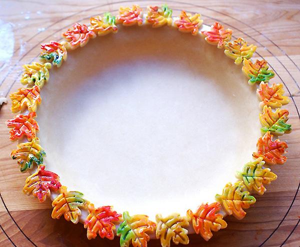 Украшение осенних блюд на осеннюю тематику