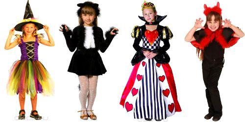 Костюм на хэллоуин для девочки своими руками фото в домашних условиях