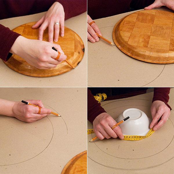 Как сделать шляпу из картона фото 262