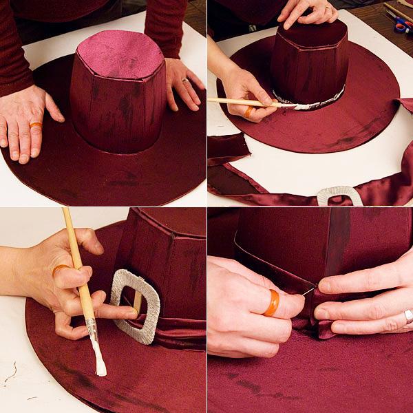 shlyapa volsh 16 - Как сделать костюм таракана своими руками