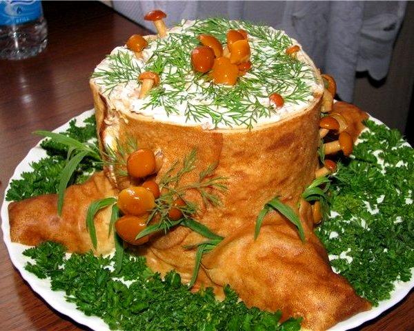Блюда на новый год необычные блюда
