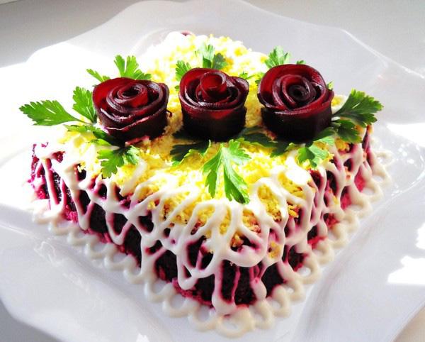 оригинальное украшение блюд фото