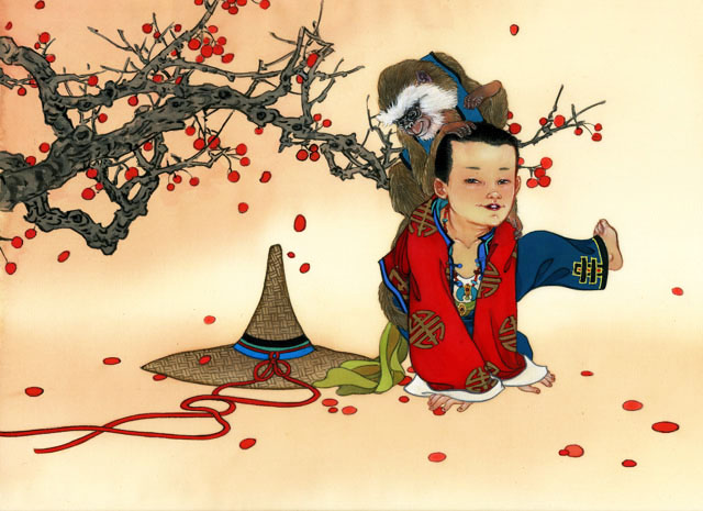 Новый год в китайской стиле