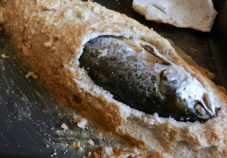 Креативная подача блюд коптить рыбу