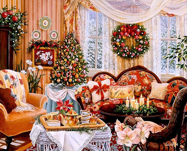 Гадание в Рождественский сочельник